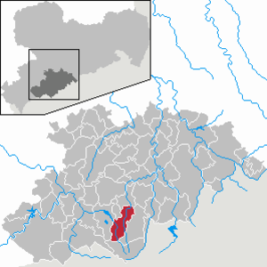 Crottendorf - Image: Crottendorf in ERZ