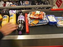 In supermarkets, sellers periodically change p...