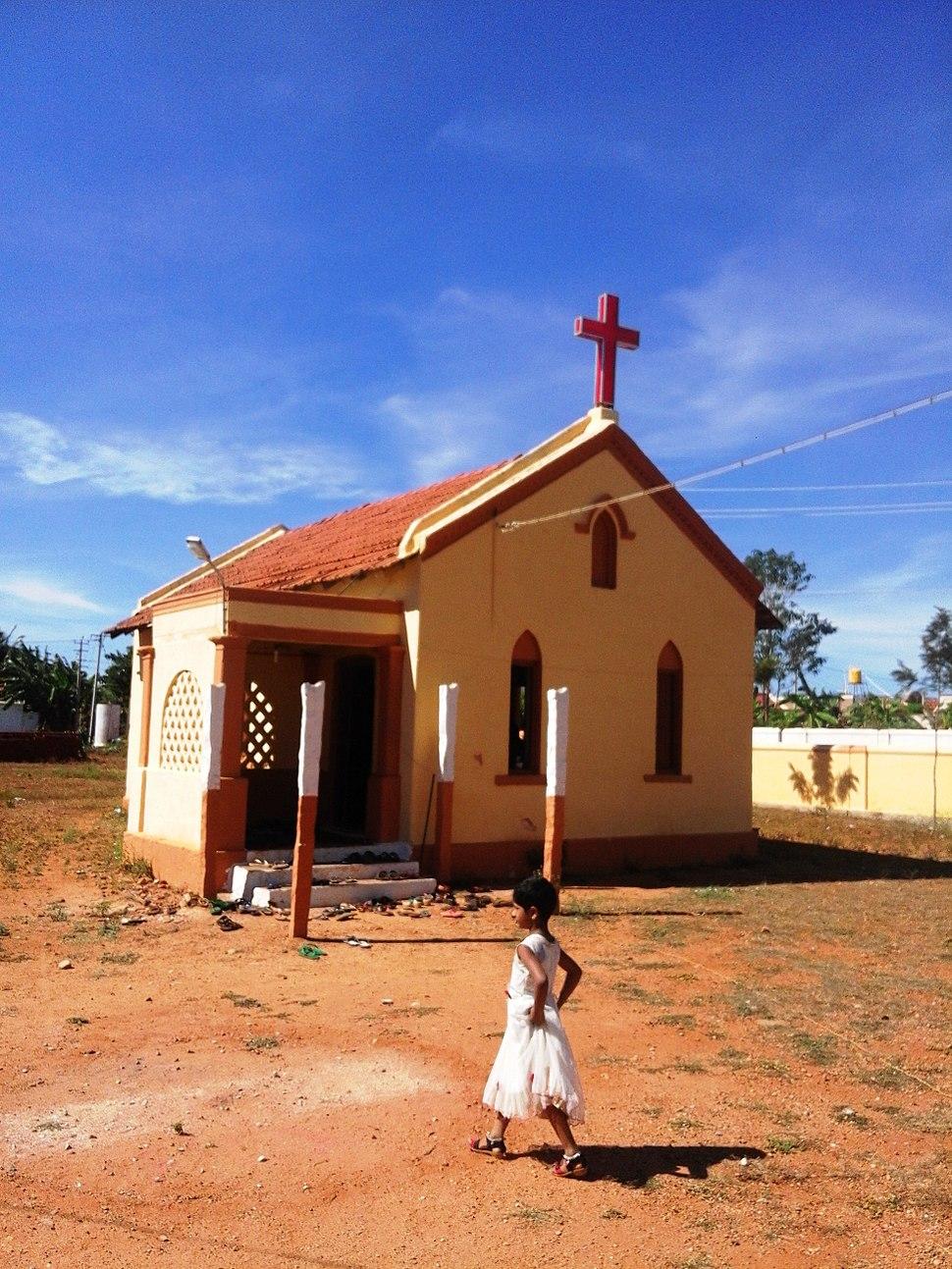 Cute little church of Kellamballi
