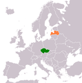 Czech Republic Latvia Locator.png