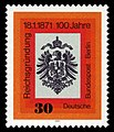 DBPB 1971 385 100 Jahre Reichsgründung.jpg