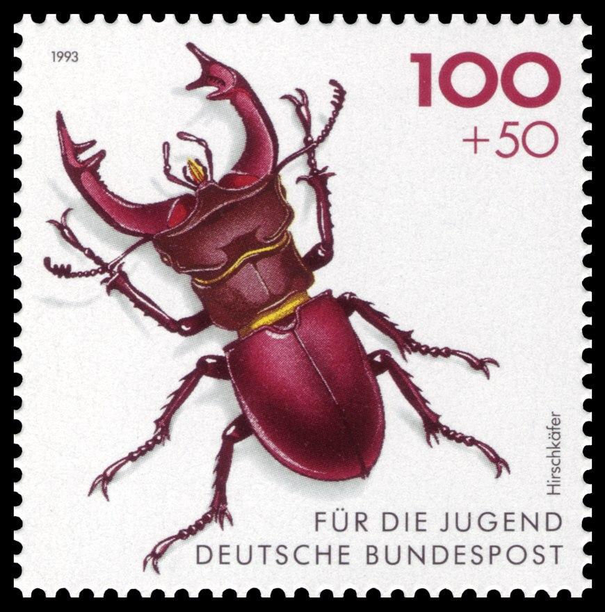 DBP 1993 1668 Hirschkäfer