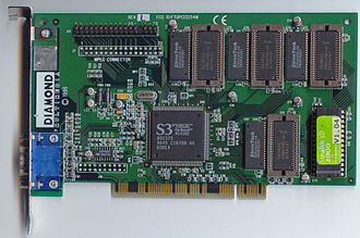 Graphics processing unit - S3 Graphics ViRGE
