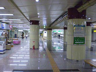 Kyungpook National University Hospital station - Station concourse