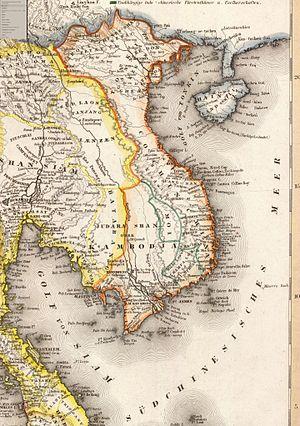 Siamese–Vietnamese War (1831–34) - Image: Dai Nam 1844