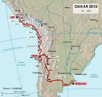Dakar Rally 2012 map-fr.svg