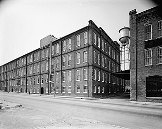Danville Tobacco Warehouse and Residential District historic district in Virginia, USA