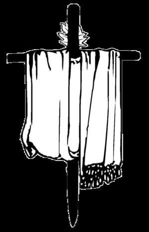 """Mandaeism - """"Mandaean cross"""" (darfash)"""
