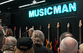 Dave LaRue and Steve Morse at the Music Man booth - 2014 NAMM Show.jpg