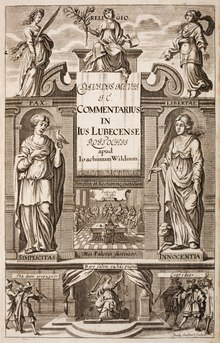 David Mevius: Commentarii in jus Lubecense libri V. (1679)