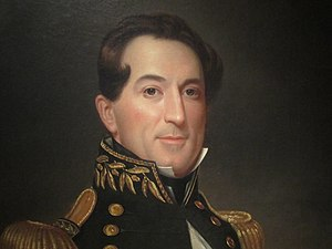 David Farragut - Farragut as he appears in the National Portrait Gallery in Washington, D.C.