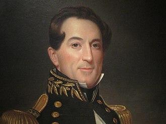 David Farragut - Farragut as he appears in the National Portrait Gallery in Washington, D.C.