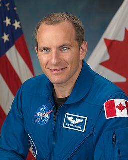 David Saint-Jacques Canadian engineer, astrophysicist, physician and CSA astronaut