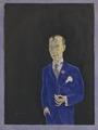 David Sprengel, 1880-1941, skribent, kritiker (Nils von Dardel) - Nationalmuseum - 16996.tif