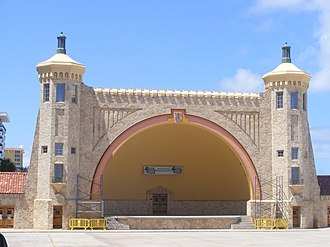 Daytona Beach Multiple Property Submission - Image: Daytona Beach Bandshell