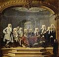 De regenten van het Aalmoezeniersweeshuis te Amsterdam, 1729, SK-C-87.jpg