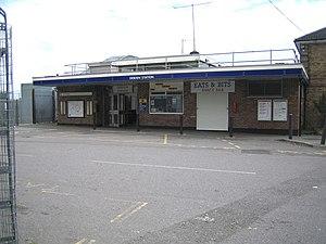 Debden tube station - Station entrance