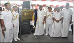 Dedication Ceremony of INS Chennai to the City of Chennai by Chief Minister of Tamil Nadu Edappadi K. Palaniswami onboard at INS Chennai.jpg