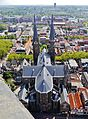 Delft Blick von der Nieuwe Kerk auf die Maria-van-Jessekerk 06.jpg