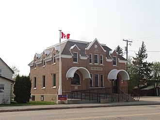 Deloraine, Manitoba - The post office in Deloraine, constructed 1930
