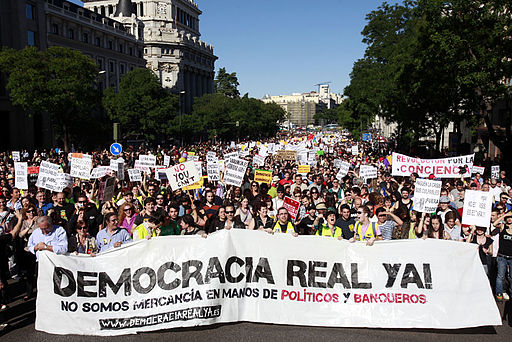 Democracia real YA Madrid