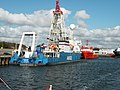 Den Helder, Marinehaven, Amige en Hunter.jpg