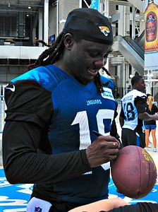 Denard Robinson 2014 Jaguars training camp Cropped.jpg