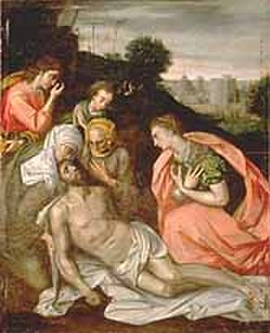 Harding's Gallery (Boston) - Image: Descent From Cross by Frans Floris Thomas Jefferson Foundation