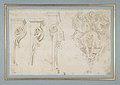 Design for Three Consoles Decorated with Foliage and Volutes and a Console with a Satyr Head Surmounted by Three Human Figures, Garland and Foliage MET DP810677.jpg