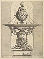 Design for a Fountain, plate 80 from Dietterlin's Architettura MET DP828569.jpg