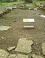 Detail from roman fort of Vindolanda 26.jpg