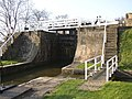 Detail of the five-rise locks, Bingley - geograph.org.uk - 388286.jpg