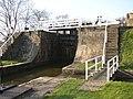 Detail of the five-rise locks, Bingley - geograph.org.uk - 388286.jpg