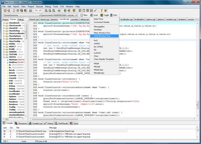 class software