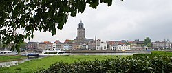 Deventer skyline with the St. Lebuinus Church shown in the centre