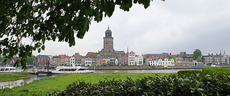 Deventer - Deventer skyline with the St. Lebuinus Church shown in the centre