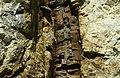 Diabase dike intruding the Ruggles Pegmatite (Ruggles Pegmatite Mine, New Hampshire, USA) 3 (8290563927).jpg