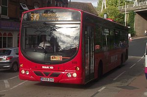 Diamond Bus - Wright Eclipse bodied Volvo B7RLE in Redditch in September 2010