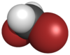 Spacefill model for dibromomethane