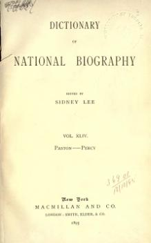 Dictionary of National Biography volume 44.djvu