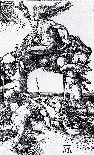Die Hexe (Albrecht Dürer) Quelle Wikipedia.org
