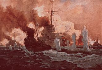 Bombardment of Yarmouth and Lowestoft - Die Seeschlacht bei Lowestoft am 25. April 1916