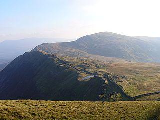 Diffwys mountain in United Kingdom