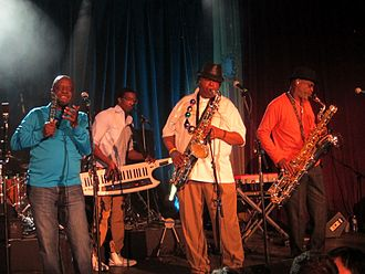 Dirty Dozen Brass Band - Dirty Dozen Brass Band in 2014