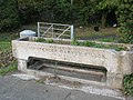 Disused horse trough on Bexley Road - geograph.org.uk - 1557657.jpg