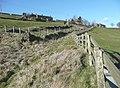Disused lane, Bunkers Hill, Slaithwaite - geograph.org.uk - 740721.jpg