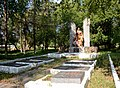 Dmytrivka Peace Street (opposite to Theological Seminary) Brothery Grave of WW2 Warriors 01 (YDS 4088).jpg
