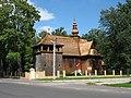 Dobroń - Kościół Św Wojciecha - panoramio.jpg