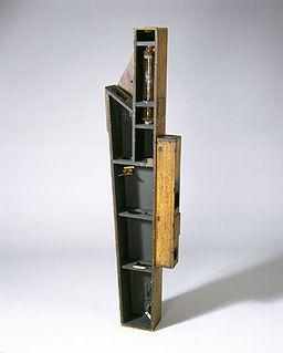 Dobson ozone spectrophotometer instrument for measuring atmospheric ozone