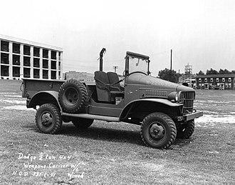Dodge WC series - Dodge WC-3  ½-ton 4x4